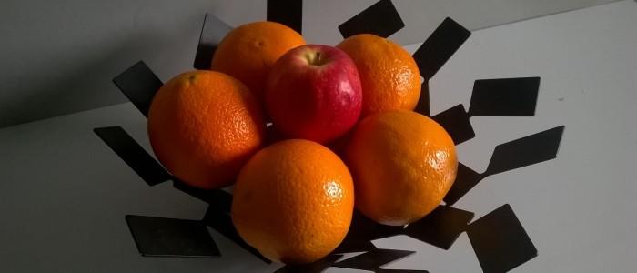 pomme et oranges