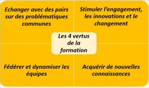 les4 vertus de la formation